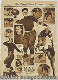 Miscellaneous, EARLY FOOTBALL LOT OF 6 ITEMS. Here's an exciting lot of earl...
