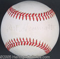 Miscellaneous, GIAMATTI SIGNED BALL. One of baseball's great misfortunes was th...