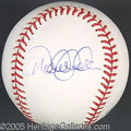 Miscellaneous, DEREK JETER SIGNED BALL. Few would deny that Derek Jeter is the ...