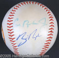 Miscellaneous, RIPKEN SIGNED BALL. There are four signatures appearing on this ...