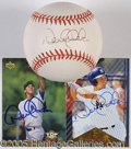Miscellaneous, TRIO OF DEREK JETER AUTOGRAPHS. In the most recent dynasty reign...
