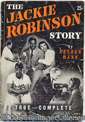 Miscellaneous, THE JACKIE ROBINSON STORY PAPERBACK. Though since reprinted seve...