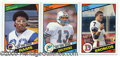 Miscellaneous, 1984 TOPPS FOOTBALL SET. A complete NM-MT 1984 Topps Football...
