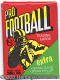 Miscellaneous, 1971 TOPPS FOOTBALL 2ND SERIES UNOPENED PACK. From the much t...