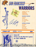 Miscellaneous, RICK BARRY, SF WARRIORS GROUP. This lot contains an assortmen...