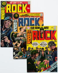 Our Army at War - Murphy Anderson Pedigree Group of 25 (DC, 1970-73) Condition: Average VF.... (Total: 25 Comic Books)