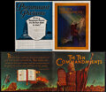 """Movie Posters:Drama, The Ten Commandments Lot (Paramount, 1923). Overall: Very Fine-. Programs (2) (Multiple Pages, 9"""" X 12"""" & 12.5"""" X 9.25""""). Dr... (Total: 2 Items)"""