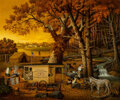 Paintings, Charles Wysocki (American, 1928-2002). Memory Maker. Oil on Masonite. 30 x 36 inches (76.2 x 91.4 cm). Signed lower left...