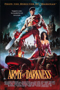 """Movie Posters:Horror, Army of Darkness (Universal, 1992). Rolled, Very Fine+. One Sheet (26.75"""" X 39.75"""") DS, Michael Hussar Artwork. Horror.. ..."""