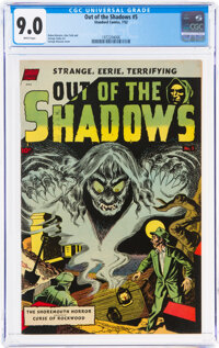 Out of the Shadows #5 (Standard, 1952) CGC VF/NM 9.0 White pages