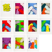KAWS (b. 1974) Urge, 2020 Portfolio with 10 screenprints in color on Saunders Waterford HP hi-white