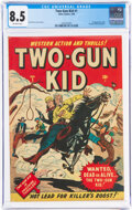 Golden Age (1938-1955):Western, Two-Gun Kid #1 (Marvel, 1948) CGC VF+ 8.5 Off-white pages....