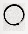 Prints & Multiples, Takashi Murakami (b. 1962). Enso: Facing the Pitch Black Void and Enso: A World Filled with Light, 2018. Offset lith...