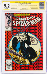 The Amazing Spider-Man #300 Signature Series: Todd McFarlane and Others (Marvel, 1988) CGC NM- 9.2 White pages