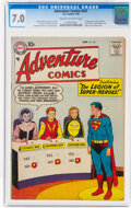 Silver Age (1956-1969):Superhero, Adventure Comics #247 (DC, 1958) CGC FN/VF 7.0 Cream to off-white pages....