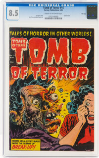 Tomb of Terror #15 File Copy (Harvey, 1954) CGC VF+ 8.5 Cream to off-white pages