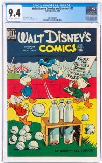 Walt Disney's Comics and Stories #120 (Dell, 1950) CGC NM 9.4 Off-white to white pages