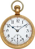 Timepieces:Pocket (post 1900), Illinois, 24 Ruby Jewels, 18 Size Bunn Special, circa 1902...