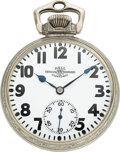 Timepieces:Pocket (post 1900), Ball Watch Co., Choice 23 Jewel Official RR Standard, Hami...