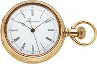 "Elgin, Rare ""Doctor's Watch"", Heavy 14k Gold Case, circa 1883"