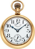 Timepieces:Pocket (post 1900), Waltham, 23 Jewel 18 Size Vanguard With Up/Down Indicator,...