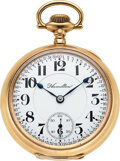 Timepieces:Pocket (post 1900), Hamilton, 23 Jewel Grade 946, circa 1906 Ca...
