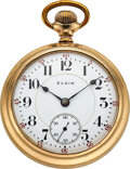 Timepieces:Pocket (post 1900), Elgin, 23 Jewel 18 Size Veritas, circa 1903