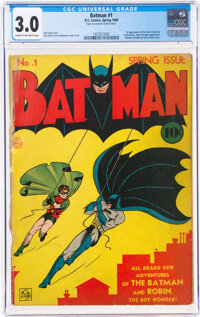 Batman #1 (DC, 1940) CGC GD/VG 3.0 Cream to off-white pages