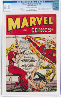 Marvel Mystery Comics #88 (Timely, 1948) CGC FN+ 6.5 Cream to off-white pages