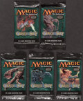Memorabilia:Trading Cards, Magic: The Gathering Core Set Sealed Booster Packs Group of 5 (Wizards of the Coast, 2003). ...
