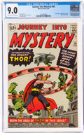 Silver Age (1956-1969):Superhero, Journey Into Mystery #83 (Marvel, 1962) CGC VF/NM 9.0 Off-white to white pages....