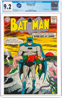 Batman #156 (DC, 1963) CGC NM- 9.2 Off-white to white pages