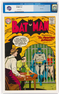 Batman #110 (DC, 1957) CGC VF/NM 9.0 Off-white pages