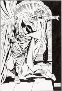 Dan Adkins Strange Tales #130 Cover Re-Creation Original Art (2012)