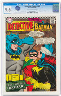 Silver Age (1956-1969):Superhero, Detective Comics #363 (DC, 1967) CGC NM+ 9.6 Cream to off-white pages....
