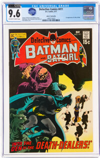 Detective Comics #411 John G. Fantucchio Pedigree (DC, 1971) CGC NM+ 9.6 Off-white to white pages