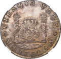 """Mexico, Mexico: Philip V """"Milled"""" 8 Reales 1732 Mo-F MS62 NGC,..."""