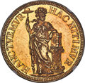 Netherlands:Holland, Netherlands: Holland. Provincial gold Proof Pattern 3 Gulden 1681 PR60 Cameo NGC,...