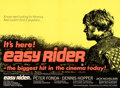 """Movie Posters:Drama, Easy Rider (Columbia, 1969). Very Fine- on Linen. Full-Bleed Day-Glo British Quad (30"""" X 40"""").. ..."""