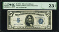 Small Size:Silver Certificates, Fr. 1650* $5 1934 Silver Certificate Star. PMG Choice Very Fine 35 EPQ.. ...