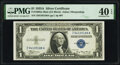 Small Size:Silver Certificates, Fr. 1608 $1 1935A Mule Silver Certificate. Z-A Block. PMG Extremely Fine 40 EPQ.. ...