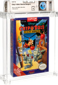 Video Games:Nintendo, Chip 'n Dale: Rescue Rangers - Wata 9.2 A Sealed [Oval SOQ R, with Offer], NES Capcom 1990 USA....