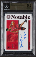 Basketball Cards:Singles (1980-Now), 2019-20 Panini Encased Terrence Davis Autograph (Red) #175 BGS Gem Mint 9.5, Auto 10 - Serial Numbered 17/25....