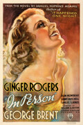 "Movie Posters:Comedy, In Person (RKO, 1935). Fine+ on Linen. One Sheet (27"" X 41"").. ..."