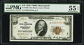 Small Size:Federal Reserve Bank Notes, Fr. 1860-I $10 1929 Federal Reserve Bank Note. PMG About Uncirculated 55 EPQ.. ...