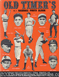 Miscellaneous, VOL. 2 OLD TIMER'S BASEBALL PHOTO ALBUM. Published in 1963, t...