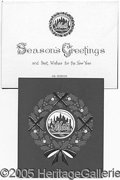 Miscellaneous, NEW YORK METS CHRISTMAS CARDS. Mets collectors will delight in t...