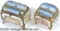 General Historic Events:World Fairs, 1904 ST. LOUIS EXPOSITION CASCADE GARDEN PIN BOXES - 2 DIFF. Lot...
