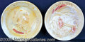General Historic Events:World Fairs, LOUISIANA PURCHASE EXPOSITION 1904 WELLER INDIAN PLATES. Two dif...