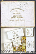 "General Historic Events:World Fairs, LOUISIANA PURCHASE 1904 EXPOSITION SOUVENIR ""GOLD DOLLAR"" MCKINL..."